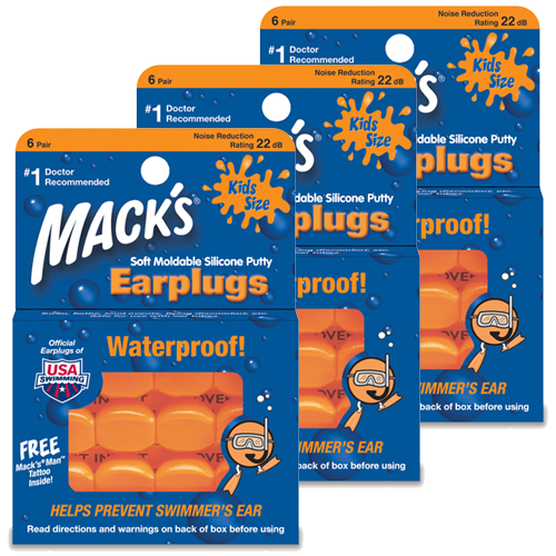 Triplepack Macks Pillow Soft Kids