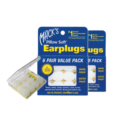 Duopack Macks Earplugs Pillow Soft 12 paar